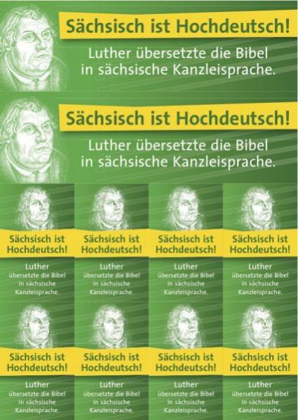Sachsen-Aufkleber-Set