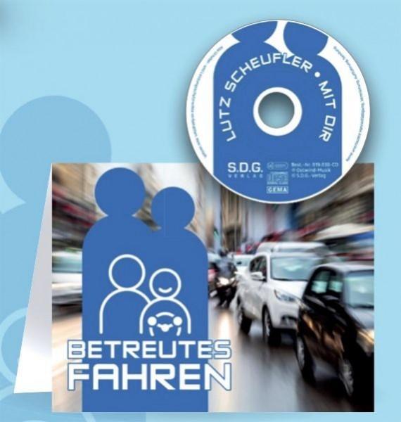 Betreutes Fahren - Klappkarte mit Mini-Musik-CD