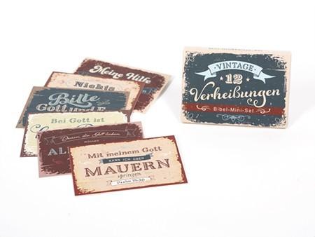 """Mini-Grußkarten-Set - """"Verheißungen"""""""