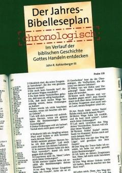 DER JAHRES-BIBELLESEPLAN