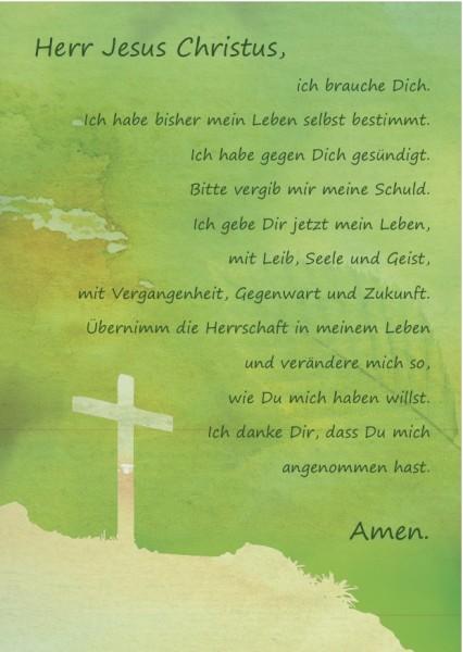 Gebetskarte