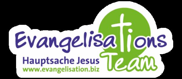 """Aufkleber """"Evangelisationsteam"""""""